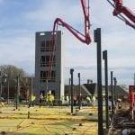 Home 2 Suites & Tru by Hilton Commercial concrete contractors Omaha NE
