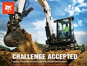 TR Construction Featured in Bobcat WorkSaver