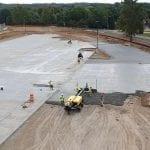 Burke High School Parking Lot Omaha Concrete Repair
