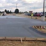 Burke High School Parking Lot Concrete Companies Omaha Nebraska
