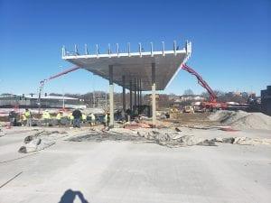 Quik Trip Commercial concrete contractors Omaha NE