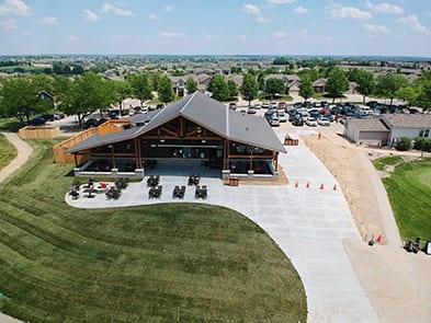 Stone Creek Golf Course Concrete Supply Omaha
