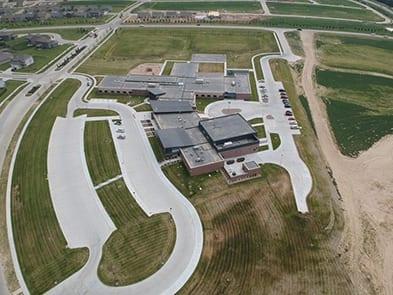 Anchor Pointe Elementary School Omaha Concrete Contractors