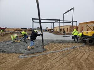 Fountain Point Commercial concrete contractors Omaha NE