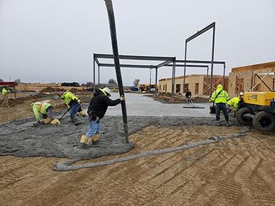 Fountain Point Commercial concrete contractors Omaha NE