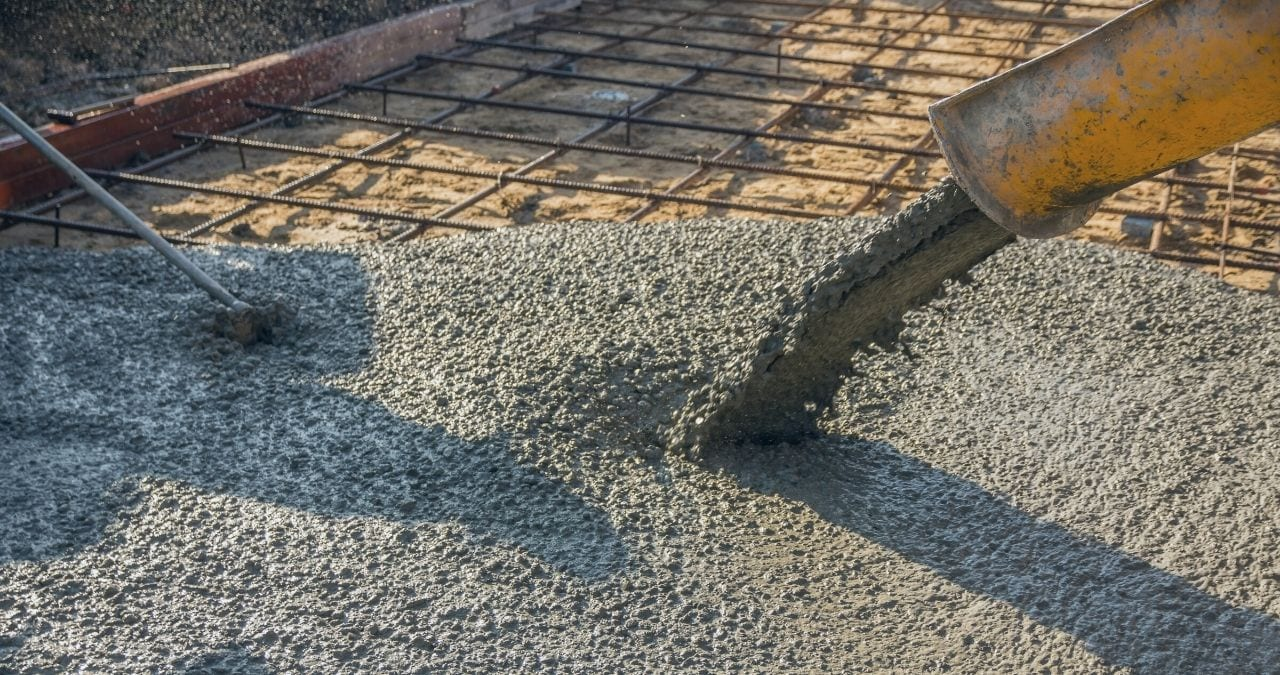 cold weather concrete placement