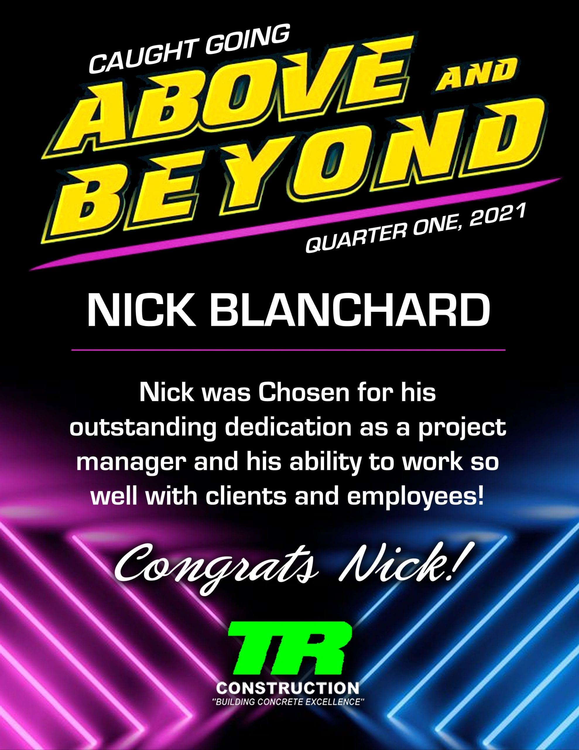 Nick Blanchard