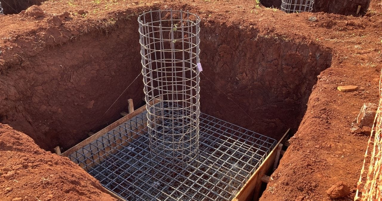 footing and foundation