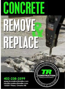 Cracked Concrete remove and replace